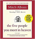 The Five People You Meet in Heaven (Audio CD)