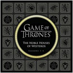 Game of Thrones: The Noble Houses of Westeros: Seasons 1-5 (Hardcover)