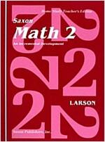 [중고] Saxon Math 2 an Incremental Development Home Study (Spiral, Teacher's)