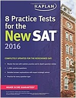 Kaplan 8 Practice Tests for the New SAT (Paperback, 2016)