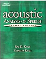 Acoustic Analysis of Speech (Paperback, 2)