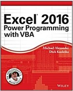 Excel 2016 Power Programming with VBA (Paperback)