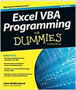 Excel VBA Programming for Dummies (Paperback, 4, Revised)