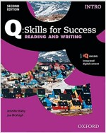Q Skills for Success: Intro Level: Reading & Writing Student Book with IQ Online (Package, 2 Rev ed)