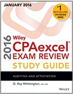 Wiley Cpaexcel Exam Review 2016 Study Guide January: Auditing and Attestation (Paperback, 15)