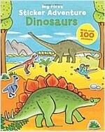 My First Sticker Adventure Dinosaurs (Paperback)