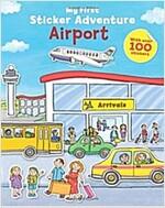 My First Sticker Adventure Airport (Paperback)