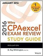 Wiley Cpaexcel Exam Review 2016 Study Guide January: Regulation (Paperback, 15)