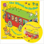 노부영 마더구스 세이펜 The Wheels on the Bus Go Round and Round (Paperback + CD)