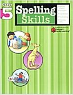 Spelling Skills: Grade 5 (Flash Kids Harcourt Family Learning) (Paperback)
