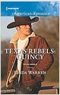 [중고] Texas Rebels: Quincy (Mass Market Paperback)