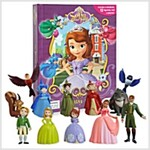 My Buisy Book - Disney Sofia the first (미니피규어 12개 포함) (Board book)
