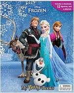 Disney Frozen My Busy Book (미니피규어 12개 포함) (Board book)