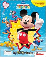Mickey Mouse Clubhouse: Mouseka Fun! My Busy Books (미니피규어 12개 포함) (Hardcover)
