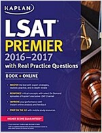 Kaplan LSAT Premier 2016-2017 (Paperback)