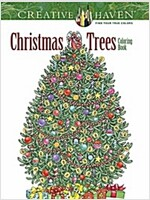 Creative Haven Christmas Trees Coloring Book (Paperback)