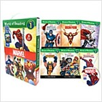 World of Reading Marvel Boxed Set: Level 1 (with CD) (Paperback + CD)