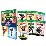 World of Reading Avengers Boxed Set: Level 1 (with 2CD) (Paperback + CD)