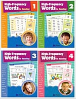 High Frequency Word in Reading 4종 세트