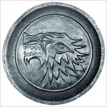 Game of Thrones Stark Shield Pin (ACC)