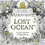 Lost Ocean: An Inky Adventure and Coloring Book for Adults (Paperback)