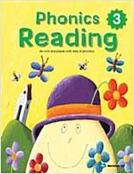 Phonics Reading 3 (Student book + CD 1장)
