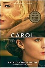 Carol (Paperback, Movie Tie-In)