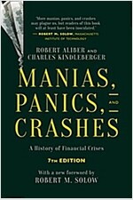 Manias, Panics, and Crashes : A History of Financial Crises, Seventh Edition (Paperback, 7th ed. 2015)