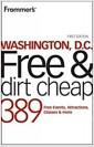 [중고] Frommer's Washington DC Free and Dirt Cheap (Paperback)
