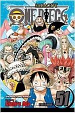 [중고] One Piece, Volume 51: The Eleven Supernovas (Paperback)