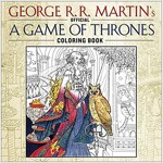 The Official a Game of Thrones Coloring Book: An Adult Coloring Book (Paperback)