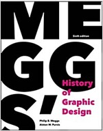 Meggs' History of Graphic Design (Hardcover, 6, Revised)