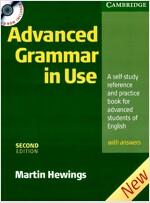 [중고] Advanced Grammar in Use With CD ROM (Package, 2 Rev ed)