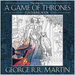 The Official A Game of Thrones Colouring Book (Paperback)