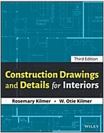 Construction Drawings and Details for Interiors (Paperback, 3)