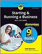 Starting and Running a Business All-In-One for Dummies (Paperback, 3)