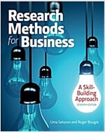 Research Methods for Business: A Skill Building Approach (Paperback, 7)