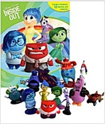 Disney Pixar Inside Out My Busy Book (미니피규어 12개 포함) (Hardcover)