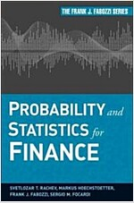 Probability and Statistics for Finance (Hardcover)