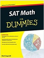 SAT Math for Dummies (Paperback)