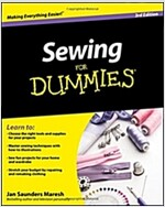 Sewing For Dummies (Paperback, 3rd Edition)