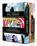 Neil Gaiman & Chris Riddell Box Set (Paperback)