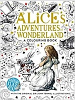 The Macmillan Alice Colouring Book (Paperback, Main Market Ed.)