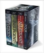 Divergent Series Set: Divergent, Insurgent, Allegiant, Four (Boxed Set, 미국판)