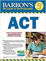 Barron's ACT [With CDROM] (Paperback, 2)