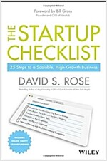 The Startup Checklist: 25 Steps to a Scalable, High-Growth Business (Hardcover)