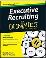 Executive Recruiting For Dummies (Paperback)