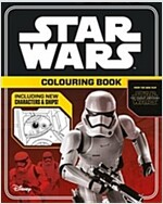 Star Wars The Force Awakens: Colouring Book (Paperback)