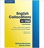 English Collocations in Use Intermediate (Paperback)