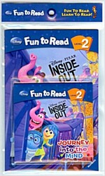 Disney Fun To Read Set 2-29 / Journey into the Mind [인사이드 아웃] (Paperback with workbook + CD)